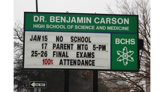 Official: School named for Ben Carson an affront to Detroit