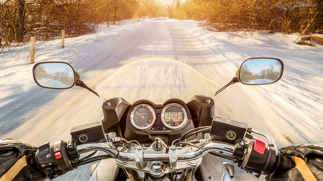 The essentials for winter motorcycle riding