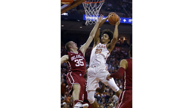 Texas To Meet Arkansas at Fort Bliss in Armed Forces Classic