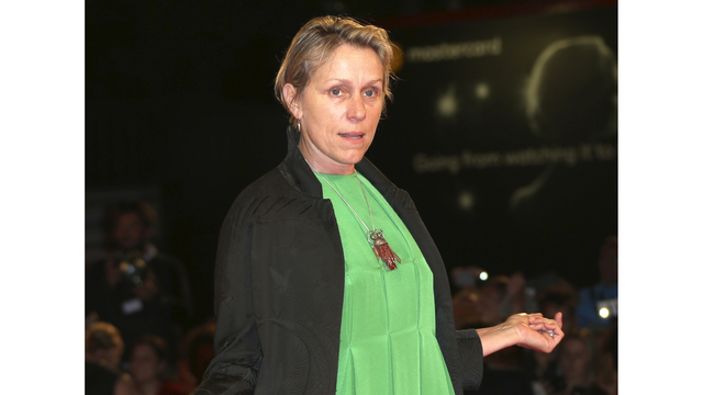 McDormand admits to being tired of awards season
