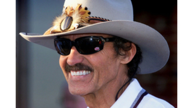 Richard Petty cars, trophies at auction