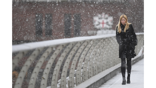 The Latest Coldest Temperatures Of The Winter Hit Moscow