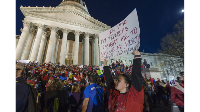 West Virginia House approves raises to end teacher strike
