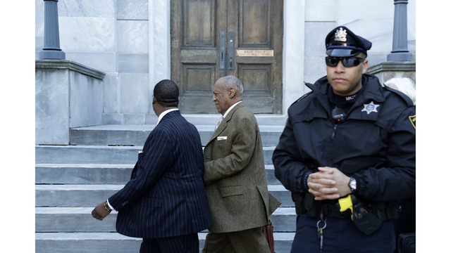 Cosby judge rejects demand to step aside over wife's work