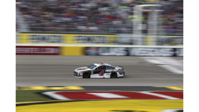 Harvick docked points for illegal car