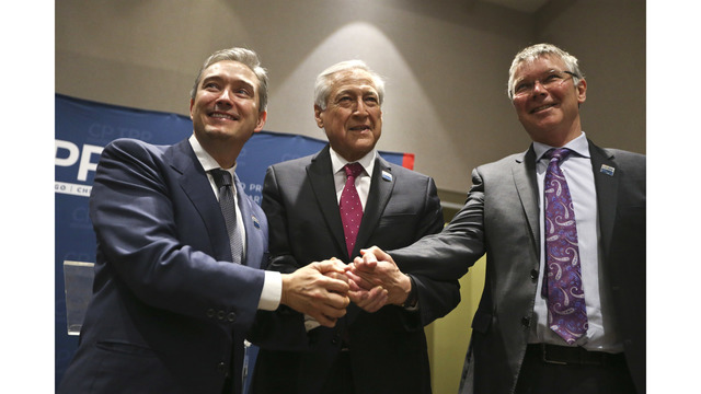 11 nations sign Pacific trade pact as Trump plans US tariffs