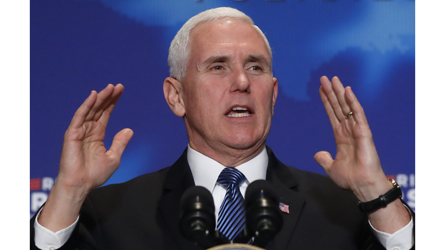 Trump to skip South America, will send Pence