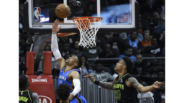 Mr. Triple-Double: Westbrook joins a very exclusive NBA club