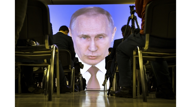 Russian Federation  votes to hand Vladimir Putin 4th presidential term