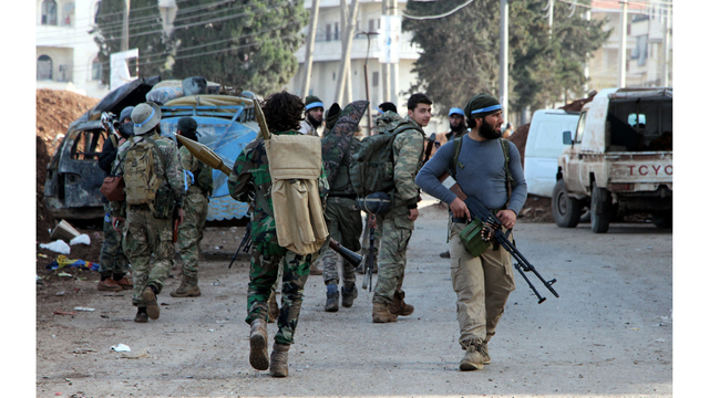Free Syrian Army Opposition Group Seizes Control Over City of Afrin