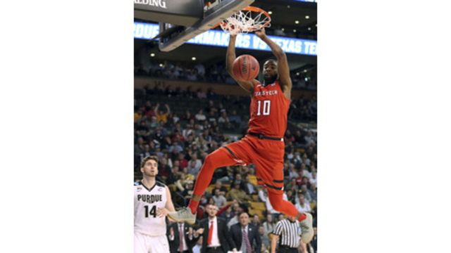 NCAA Latest: Texas Tech Beats Purdue For Last Elite 8 Spot
