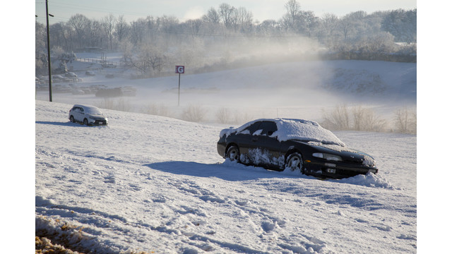 Snow Postpones NASCAR Races at Martinsville Speedway