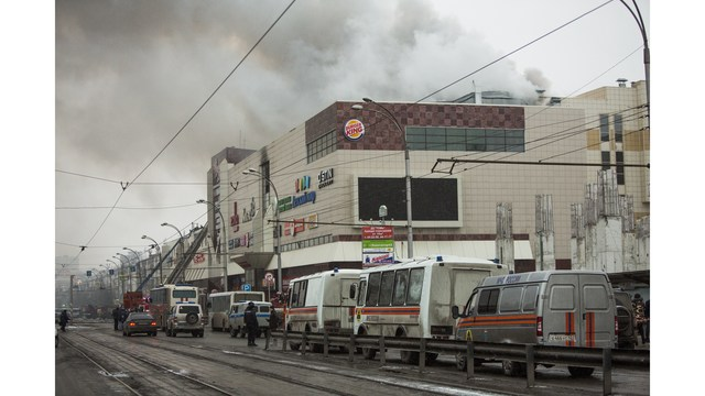 Death toll rises to 64 in Russian shopping mall fire