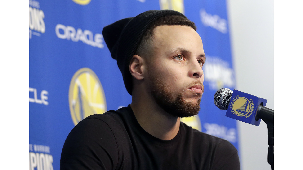 Steve Kerr rules out Stephen Curry for playoffs' first round