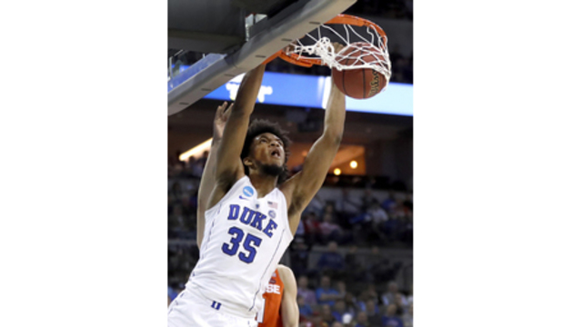 Freshman Marvin Bagley III leaving Duke for National Basketball Association draft
