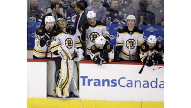 Bruins' Ryan Donato: Buries another in loss to Jets