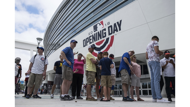 Tampa Bay Rays open 20th anniversary season