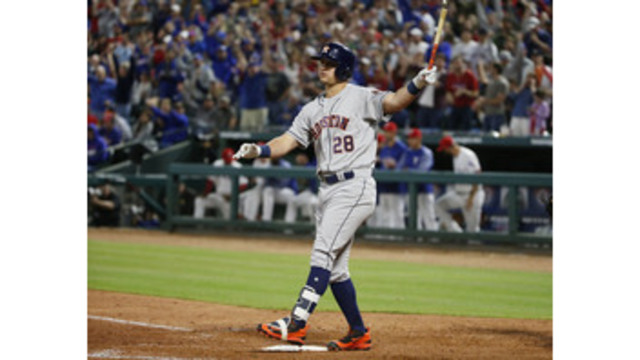 Major league roundup: Astros' title defense opens with a win