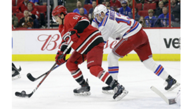 Rangers eliminate Hurricanes from playoff race