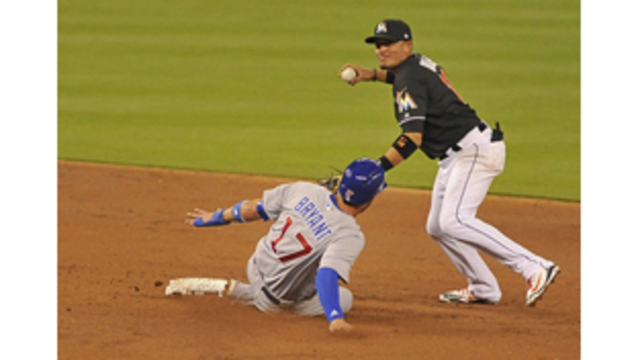 Behind big fifth inning, Marlins defeat the Cubs 6-0