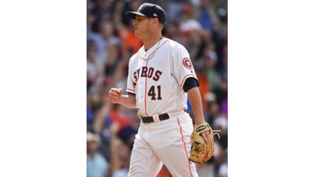 Morton, Houston Astros roll in home opener