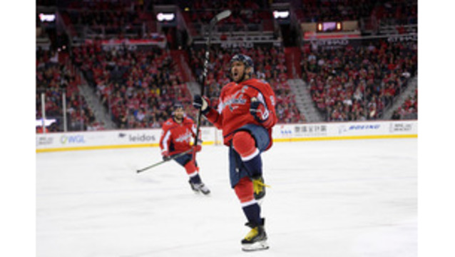 Ovechkin was named the best forward in the National Hockey League