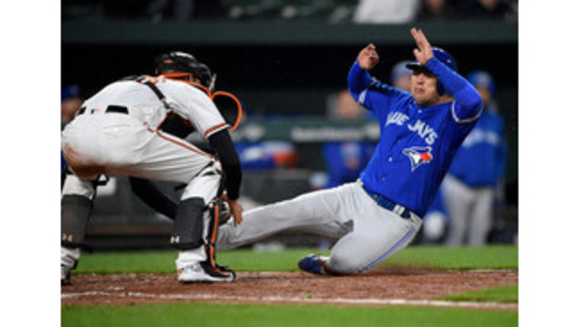 Pearce Donaldson HRs lift Blue Jays past Orioles 7-1