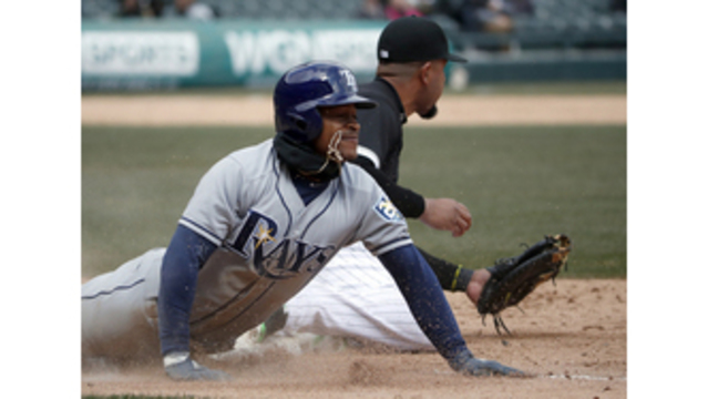 Smith ties career high with 4 hits, Rays beat White Sox