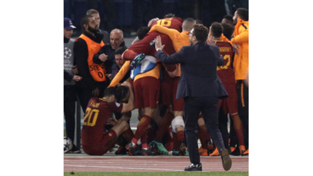 Roma aiming to 'produce a miracle' to help salvage season vs. Barcelona
