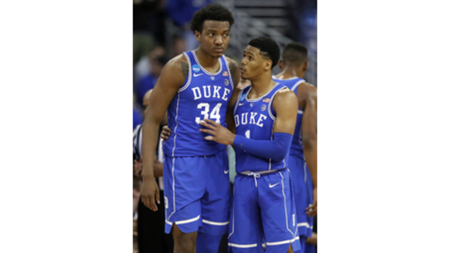 Duke forward Wendell Carter declares for 2018 NBA Draft