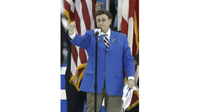 Longtime New York Rangers anthem singer John Amirante dies at age 83
