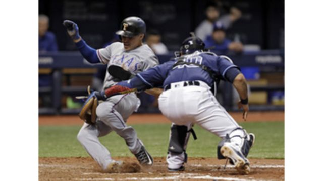 Struggling Rays hope for another win over Rangers