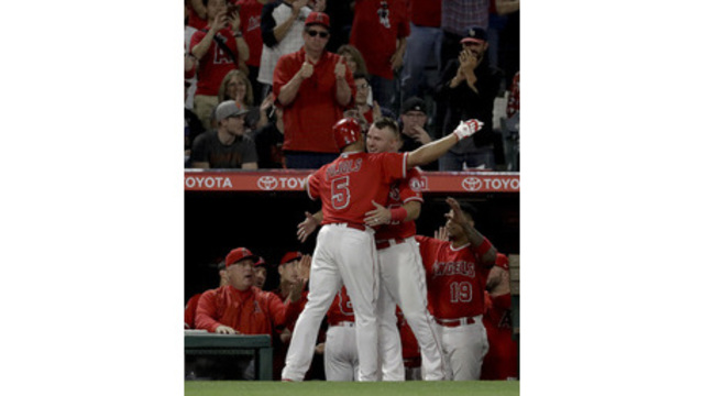Ohtani has 4th multi-hit game in Angels' loss to Giants
