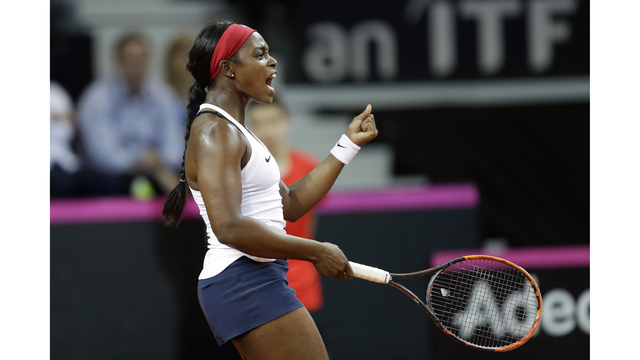 Keys sets up 'crazy' Fed Cup final for USA with Czech Republic