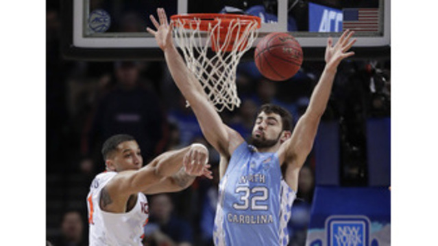 UNC's Luke Maye enters NBA Draft process but doesn't hire agent