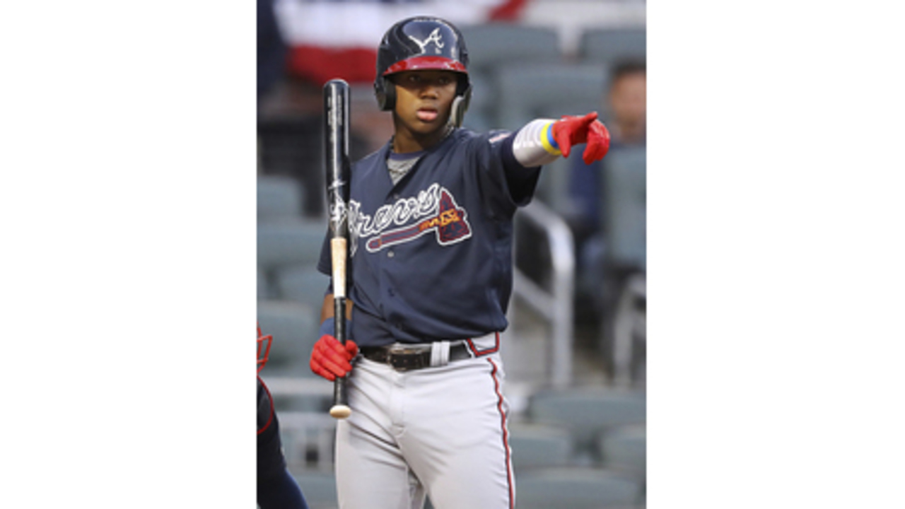 df330e03a Braves promoting top outfield prospect Acuna from Triple-A