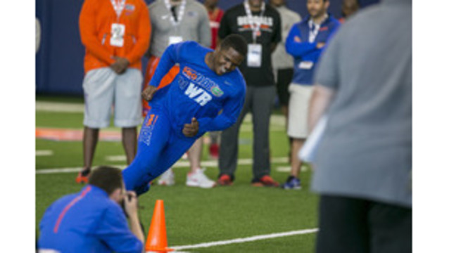 Wide Receiver Antonio Callaway's NFL Combine Drug Test was Positive for Marijuana