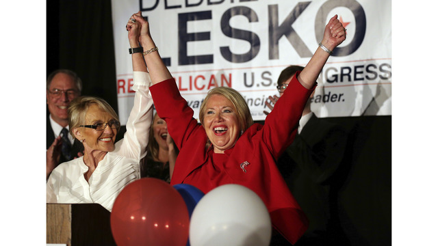 Arizona District 8 results: Debbie Lesko wins House Seat over Hiral Tipirneni