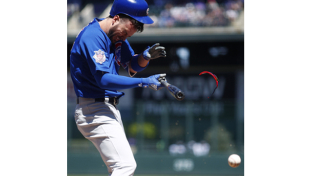 Cubs Bryant returns from HBP to head