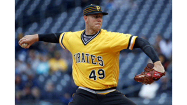 Kingham perfect through 6 innings for Pirates in MLB debut