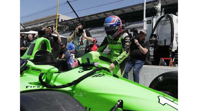 Patrick settling into IndyCar, still needs work in traffic