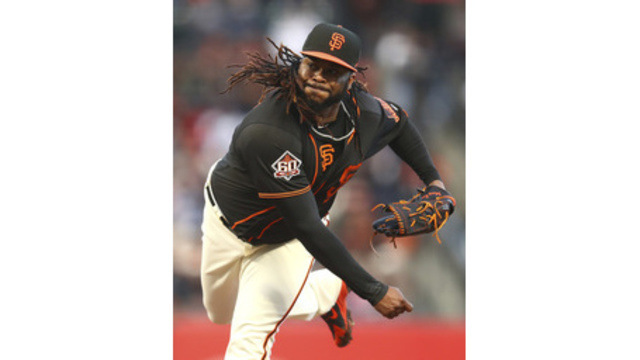 Cueto DL'd, Bumgarner cleared to throw