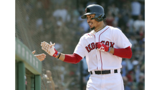 Red Sox's Joe Kelly Enjoys Game From Stands During Suspension
