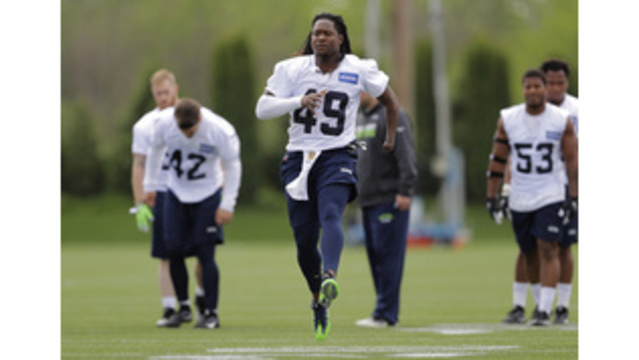 finest selection 5654b 15b65 Shaquem Griffin ready to have focus on football in Seattle