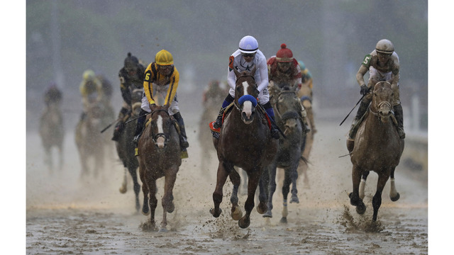 Justify draws 7 post, is 1-2 Preakness favorite