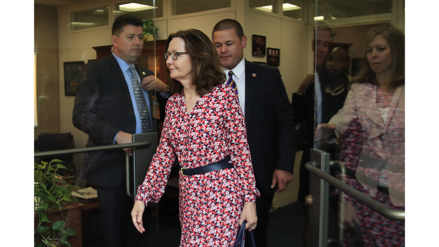 Haspel sought to bow out as Central Intelligence Agency pick