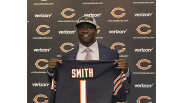 Roquan Smith has Bears iPad, Georgia jerseys stolen from vehicle