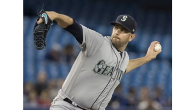 James Paxton was throwing 100 miles per hour  at end of no-hitter