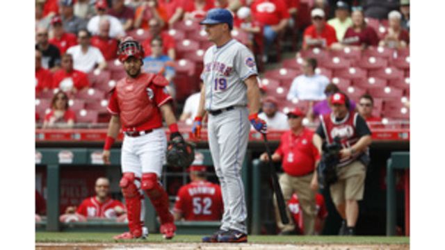 Mets trade pitcher Harvey to Reds for catcher Mesoraco