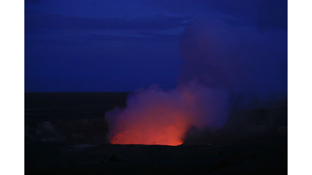 Volcano toxic gas alert for Hawaii residents